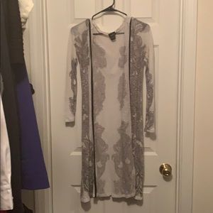 Long sheer cover up